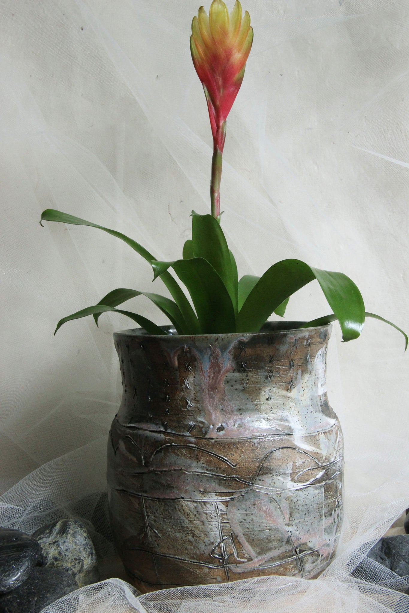 gorgeous-one-of-a-kind-carved-handmade-pottery-flower-pot