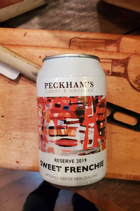 Peckham's Serious Sweet Frenchie Cider