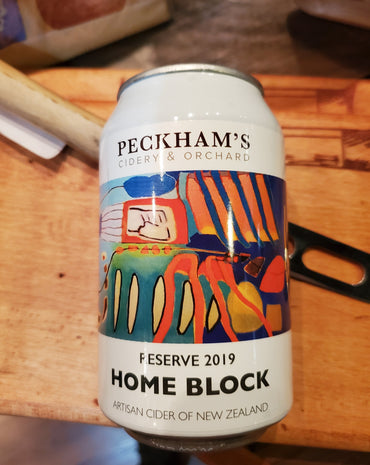 Peckham's Home Block Cider From New Zealand