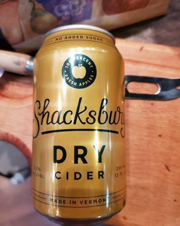 Shacksbury Dry Cider from Vermont 12 oz
