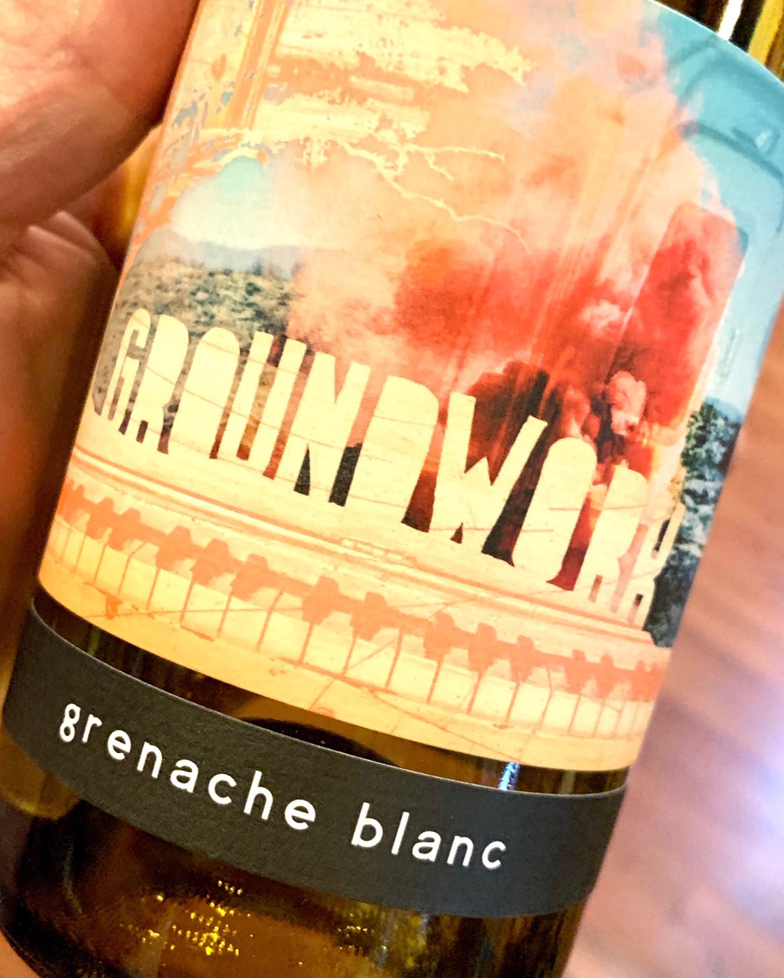 2018 Groundwork Grenache Blanc 750ml