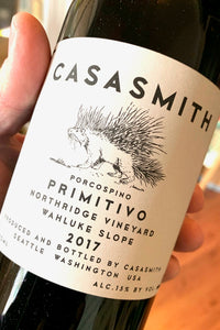 2017 Casa Smith Primitivo 750ml