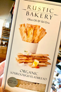 Rustic Bakery Olive Oil & Sel Gris Flatbread Crackers 6oz
