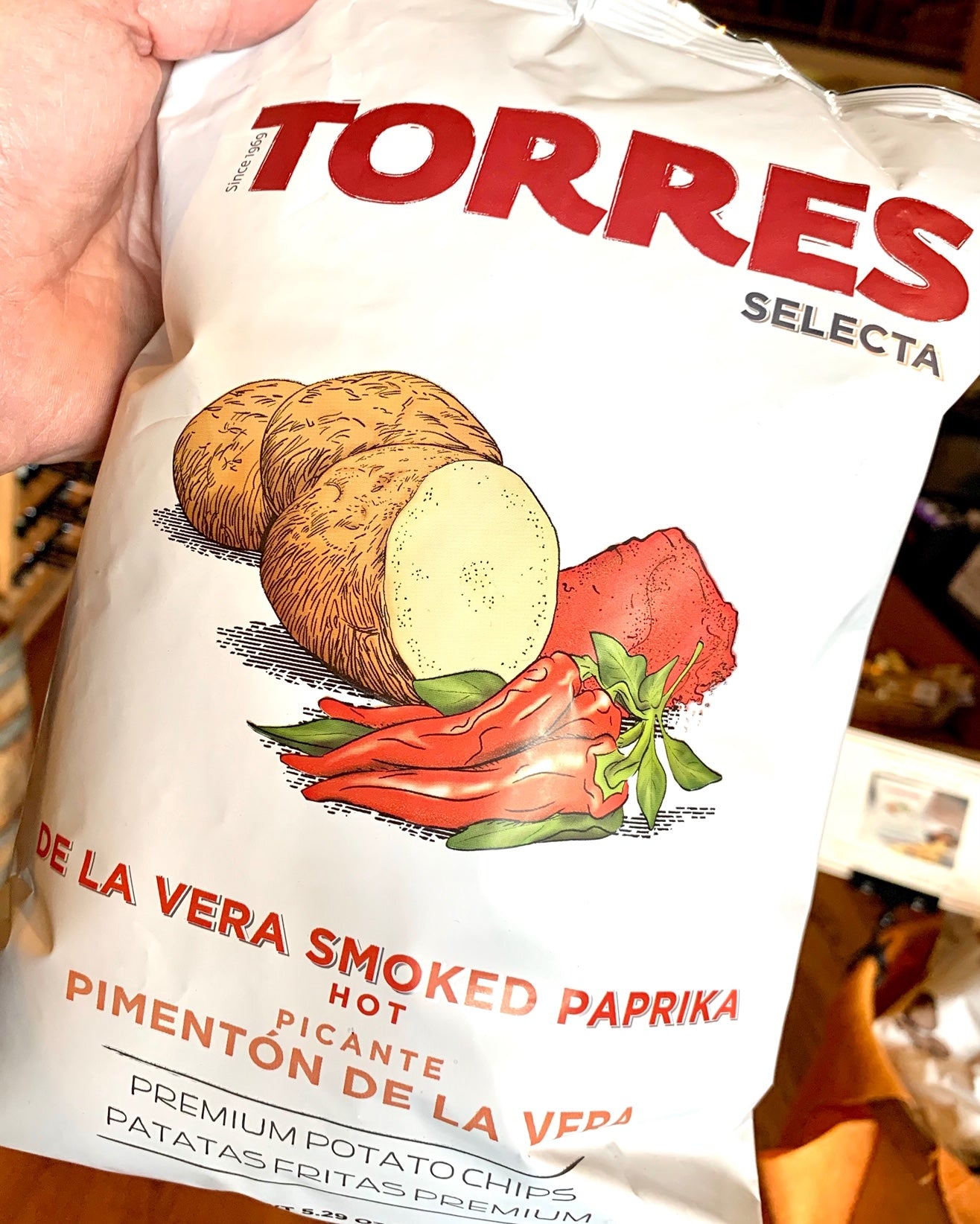 Torres Smoked Paprika Potato Chips 125g