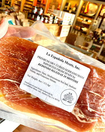 Jamon Serrano - sliced 4oz