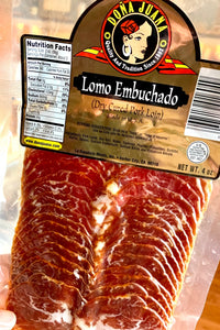 Lomo Embuchado - Sliced 4oz