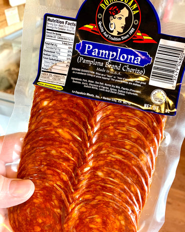 Chorizo Pamplona - sliced 4oz