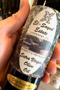 El-Sayed Estate Livermore Valley Extra Virgin Olive Oil