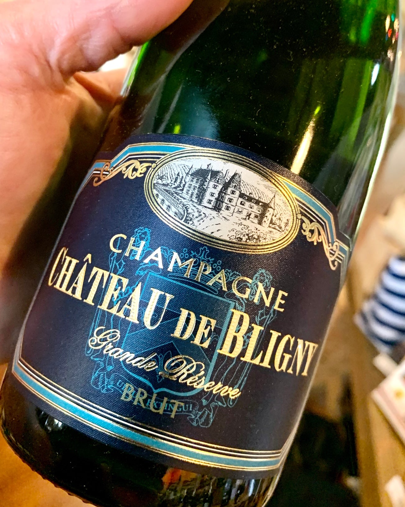 Chateau Bligny Brut Champagne 750ml