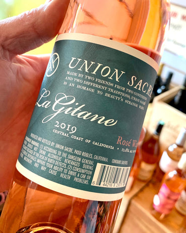 2019 Union Sacre 'La Gitane' Dry Rose'  750ml