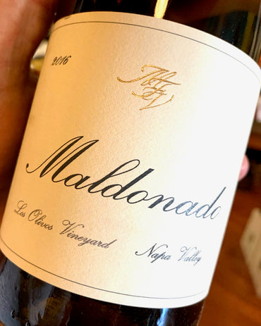 2017 Maldonado Napa Valley Chardonnay  750ml