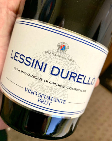 Lessini Durello Sparkling from Italia!  750ml