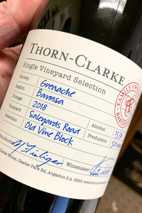 2018 Thorn-Clarke Single Vineyard Grenache  750ml