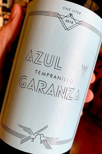 Liter Size Bottle Azul y Garanza Tempranillo  750ml