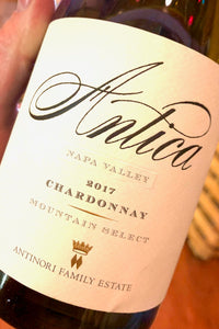 2017 Antica Chardonnay - Napa Valley  750ml