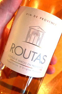 2019 Routas Rosé from Provence  750ml