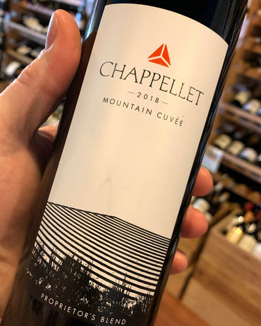 2018 Chappellet Mountain Cuvee  750ml