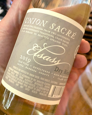 2019 Union Sacre Dry Riesling  750ml