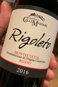 2016 ColleMassari 'Rigoleto' from Tuscany 750ml