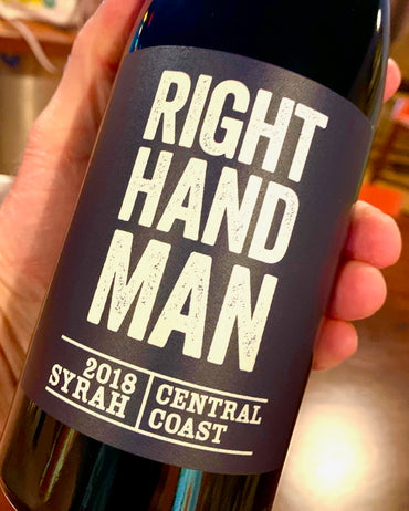 2018 Right Hand Man Syrah  750ml