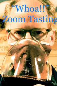 Zoom Tasting: Whoa!  Wines - 5 Red Bottles