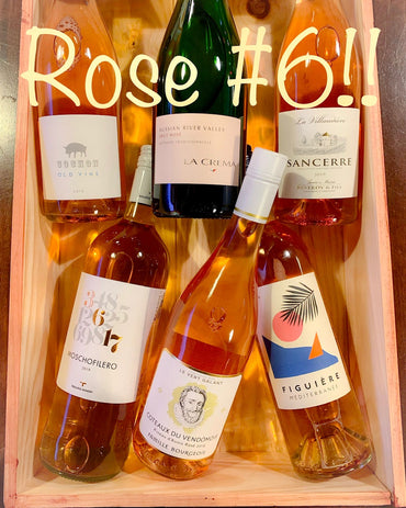 6-Bottle Rosé Sampler #6!!