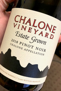 2018 Chalone Vineyard Pinot Noir  750ml