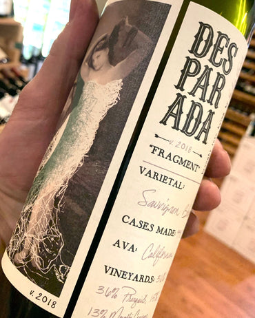 2018 Desparada 'Fragment' Sauvignon Blanc  750ml