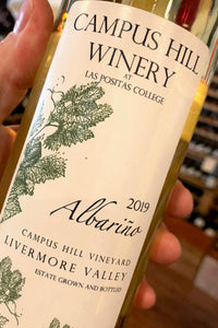 2019 Campus Hill Winery Albariño  750ml
