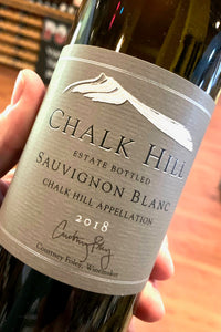 2018 Chalk Hill Estate Sauvignon Blanc  750ml