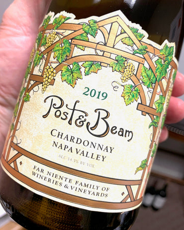 2019 Post & Beam Chardonnay  750ml