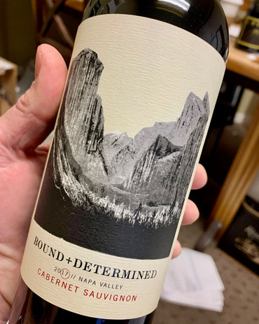 2017 Bound & Determined Cabernet Sauvignon  750ml