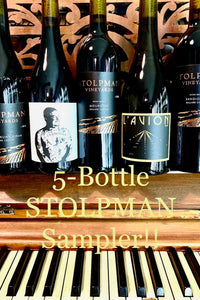 5-Bottle Stolpman Sampler!   Zoomin' Tuesday  Nov 10