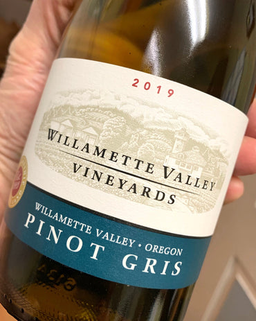 2019 Willamette Valley Vineyards Pinot Gris  750ml
