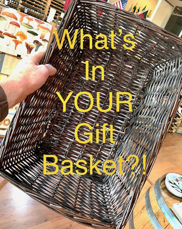 Basket for 2 to 4 Bottles plus Goodies!