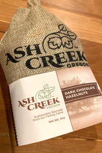 Ash Creek Dark Chocolate Hazelnuts 4oz