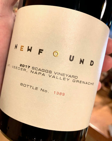 2017 Newfound Grenache Scaggs Vyd  750ml
