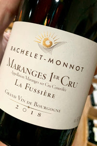 2018 Bachelet-Monnot Maranges 1er Cru Fussiere  750ml