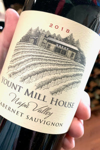 2018 Yount Mill House Cabernet Sauvignon  750ml