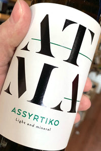 2019 ATMA Assyrtiko  750ml