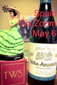 6-Bottle SPAIN Sampler for May 6, 2021 Zoom or ANYTIME