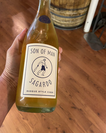 Son of Man Sagardo - Basque Style Cider