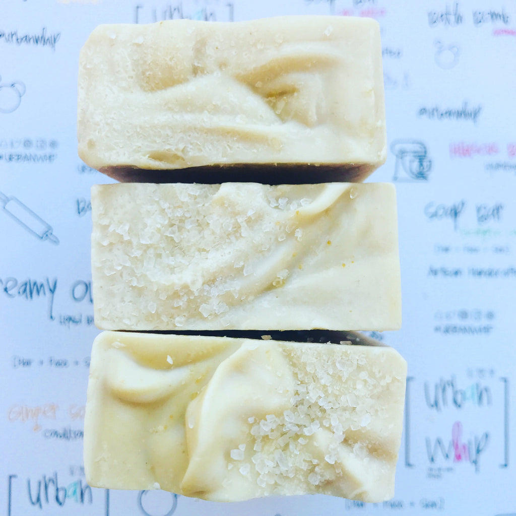 Creamed Coconut | Mineral Mud Soap Bar
