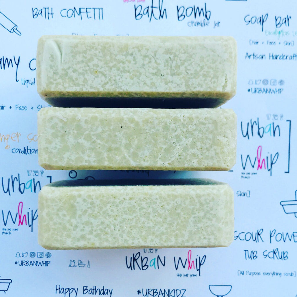 Cucumber all natural facial soap bar