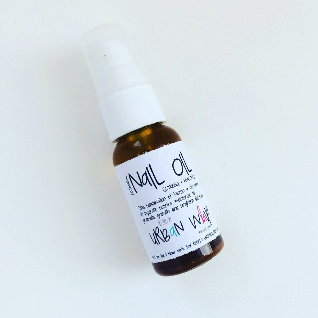 bOTANICAL | nAIL oIL | sTRONG + hEALTHY
