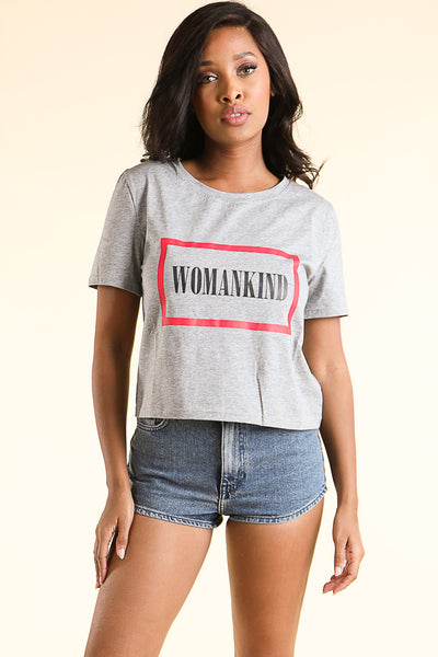 Womankind SS T-shirt