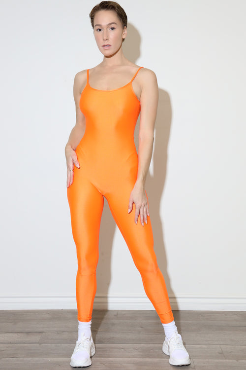 Alvy Season Nylon Orange bodysuit