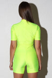 Gal Neon Yellow Bodysuit