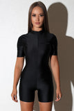 Gal Black Bodysuit