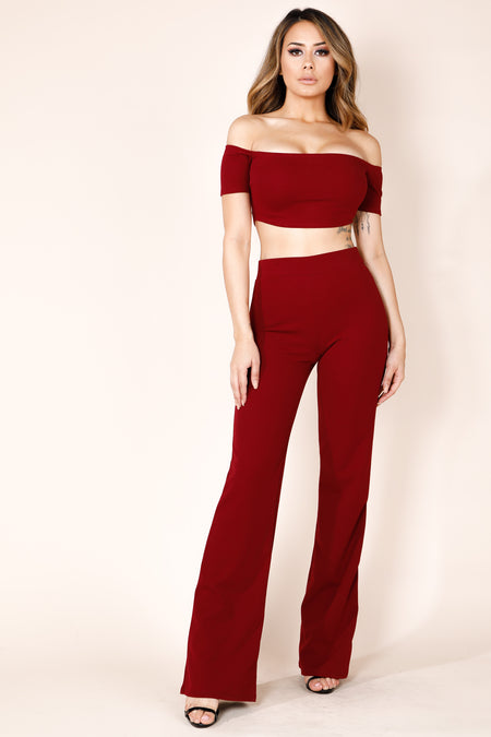Pain Jane Red Plaid Jumpsuit